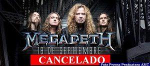 Megadeth (Foto Prensa Productora AVC A002)