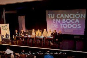 Primer Festival de la Canciòn (Foto Agencias Silvana Gòmez e Indigo Press 001)