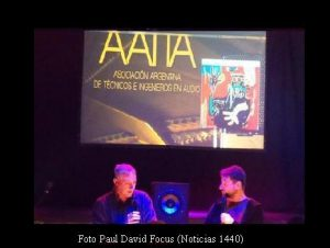 Pedro Aznar y Ari Lavigna (T.Monteviejo 7 Ago 2019 - Paul David Focus AFA001)