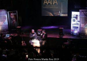 Pedro aznar y Ari Lavigna (T.Monteviejo 7 Ago 2019 - Martìn Rea Prensa A002)