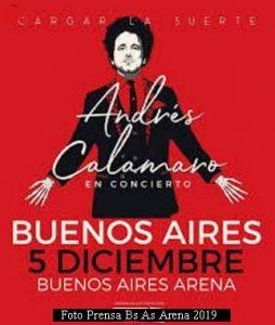 Andres Calamaro (Foto Prensa Bs AS Arena)
