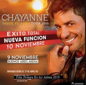 Chayanne (Foto Prensa 6 Pasos)