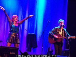 Fabiana Cantilo (Foto Paul David Focus - Noticias 1440 - A016)