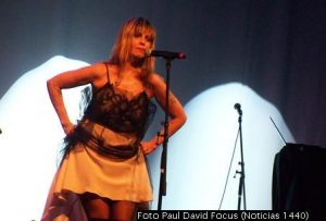 Fabiana Cantilo (Foto Paul David Focus - Noticias 1440 - A023)