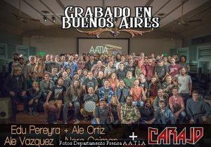 Grabado en Buenos Aires - Ediciòn Seis (Foto Oficina Prensa A.A.T.I.A. - A002)