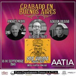 Grabado en Buenos Aires - Ediciòn Seis (Foto Oficina Prensa A.A.T.I.A. - A004)