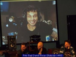 Grabado en Buenos Aires - Ediciòn Seis (Foto Paul David Focus - Noticias 1440 A004)