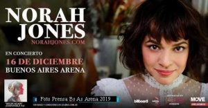 Norah Jones (Foto Prensa Bs As Arena)