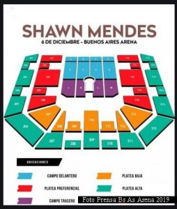 Shawn Mendes (Foto Prena Bs As Arena)