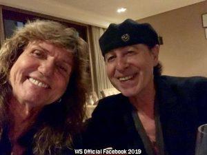 Conjunto Whitesnake (Official Facebook 2019 A007)