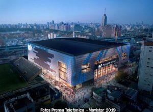 Estadio Movistar Arena (Foto Prensa Telefònica - A001)