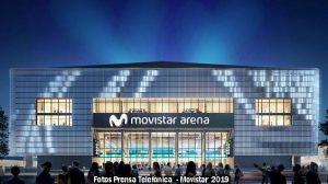 Estadio Movistar Arena (Foto Prensa Telefònica - A003)