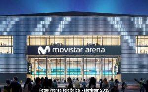 Estadio Movistar Arena (Foto Prensa Telefònica - A004)