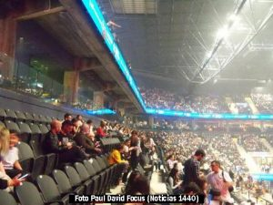 Foto Debut Movistar Arena (Paul David Focus - A009)