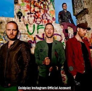 Coldplay (Instagram Official Account A010)