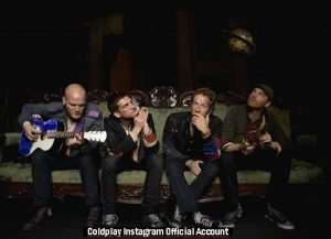 Coldplay (Instagram Official Account A013)