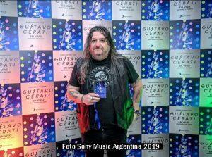 Premiere DVD Gustavo Cerati (Foto Sony Music Argentina A019)