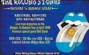 Bridges to Buenos Aires - The Rolling Stones (TRS Official Website A003)
