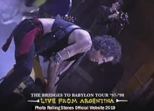 Bridges to Buenos Aires - The Rolling Stones (TRS Official Website A004)