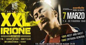XXL Irione (Foto Facebook Oficial - A015)