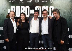 El robo del siglo (Foto Prensa Warner Films A004)