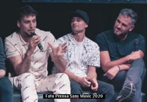 Presentaciòn Video Aves Dante Spinetta (Foto Sony Music A010)