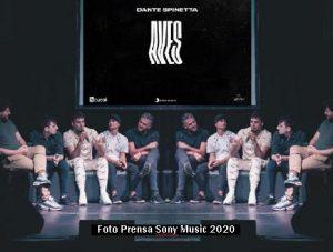Presentaciòn Video Aves Dante Spinetta (Foto Sony Music A012)