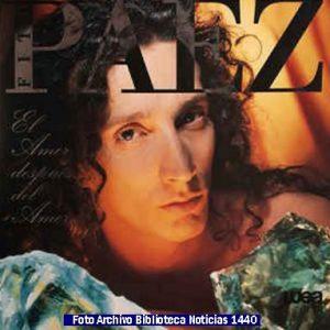 Discografìa Fito Pàez (Archivo Fotogràfico Biblioteca Noticias 1440 - A008)