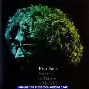 Discografìa Fito Pàez (Archivo Fotogràfico Biblioteca Noticias 1440 - A020)