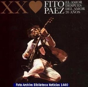 Discografìa Fito Pàez (Archivo Fotogràfico Biblioteca Noticias 1440 - A023)