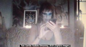 Fabiana Cantilo (Streaming Live Youtube - 28 03 2020 A003)