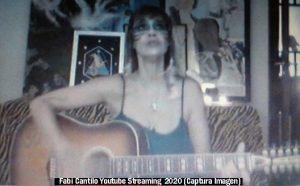 Fabiana Cantilo (Streaming Live Youtube - 28 03 2020 A007)
