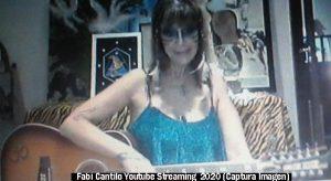 Fabiana Cantilo (Streaming Live Youtube - 28 03 2020 A008)