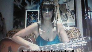 Fabiana Cantilo (Streaming Live Youtube - 28 03 2020 A009)