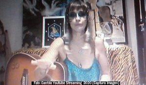 Fabiana Cantilo (Streaming Live Youtube - 28 03 2020 A011)
