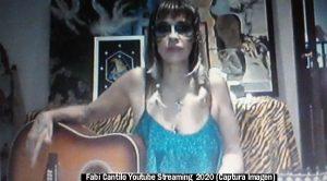 Fabiana Cantilo (Streaming Live Youtube - 28 03 2020 A012)