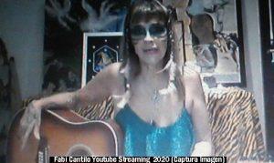 Fabiana Cantilo (Streaming Live Youtube - 28 03 2020 A013)