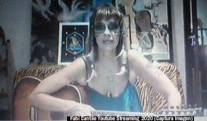 Fabiana Cantilo (Streaming Live Youtube - 28 03 2020 A014)