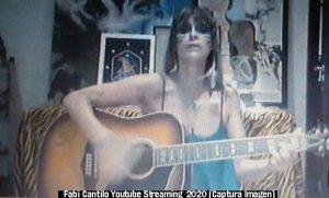 Fabiana Cantilo (Streaming Live Youtube - 28 03 2020 A016)