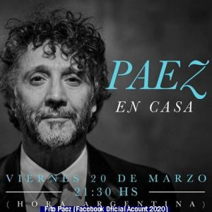 Fito Pàez (Facebook Official Account 2020 - A007)
