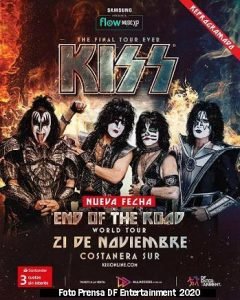 Kiss (21 Noviembre 2020 Costanera Sur - DF Entertainment)