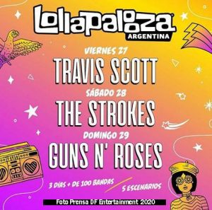 Lollapalooza (27 28 29 Noviembre 2020 San Isidro Foto B - DF Entertainment)