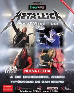 Metallica (Hip San Isidro 4 Diciembre 2020)