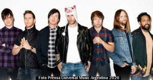 Reprogramaciòn de shows 008 (Maroon 5 - Foto Universal Music Argentina)