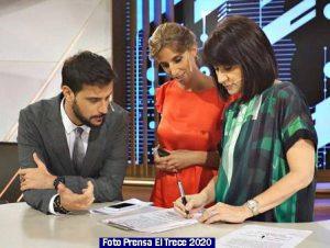 Informe Noticias El Trece 008 Telenoche 2020 (Foto Prensa El Trece)