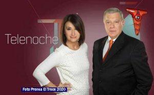 Informe Noticias El Trece 009 Telenoche 2018 (Foto Prensa El Trece)