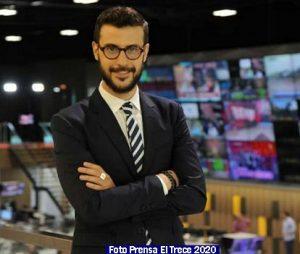Informe Noticias El Trece 012 Telenoche 2020 (Foto Prensa El Trece)