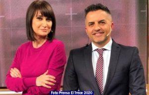 Informe Noticias El Trece 013 Telenoche 2020 (Foto Prensa El Trece)