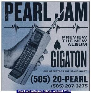 Pearl Jam (Photo Pearl Jam - Instagram Official Acount 008)