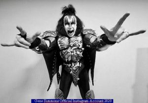 Gene Simmons (Instagram Official Acount A 001)